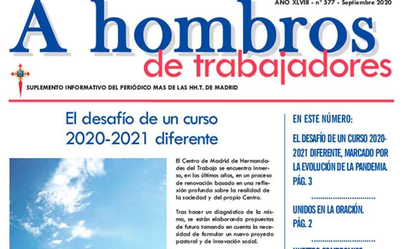 A Hombros, septiembre 2020