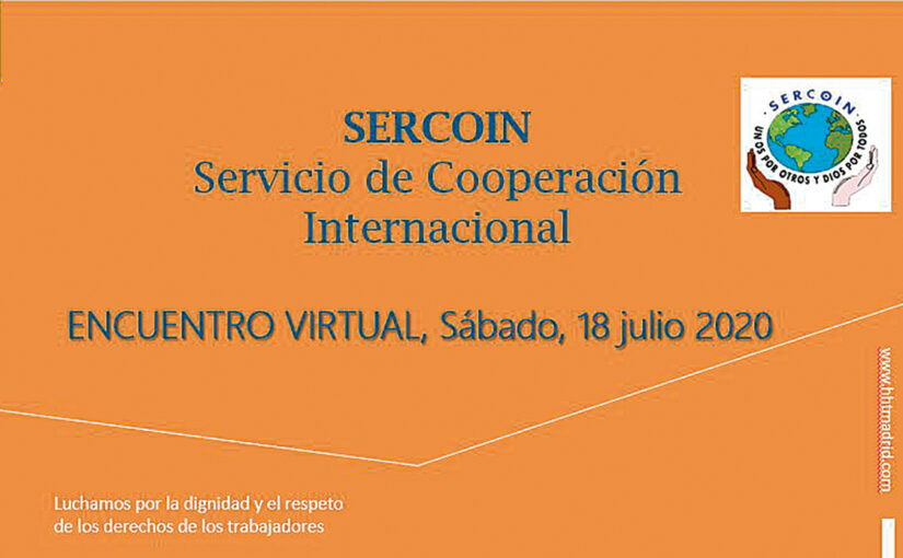Encuentro Virtual de las Hermandades del Trabajo de España y América organizado por el SERCOIN