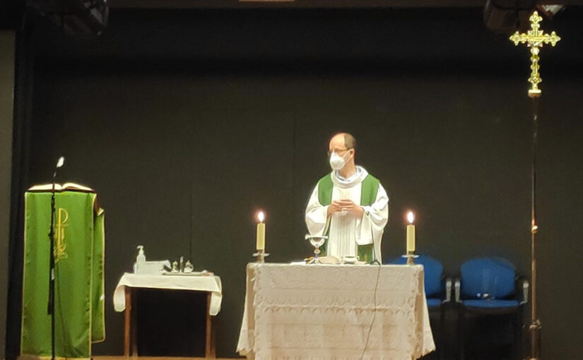 Retomamos la celebración de las misas en la sede