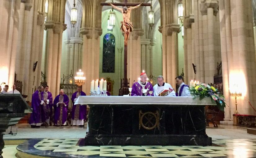 El mundo del trabajo, Hermandades y D. Abundio muy presentes en la homilía de Monseñor Osoro