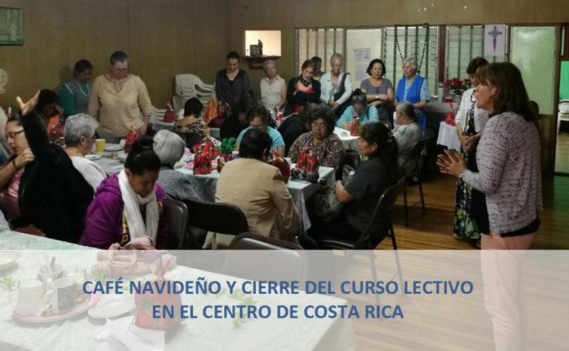 Cierre del curso lectivo 2017 en el Centro de Costa Rica