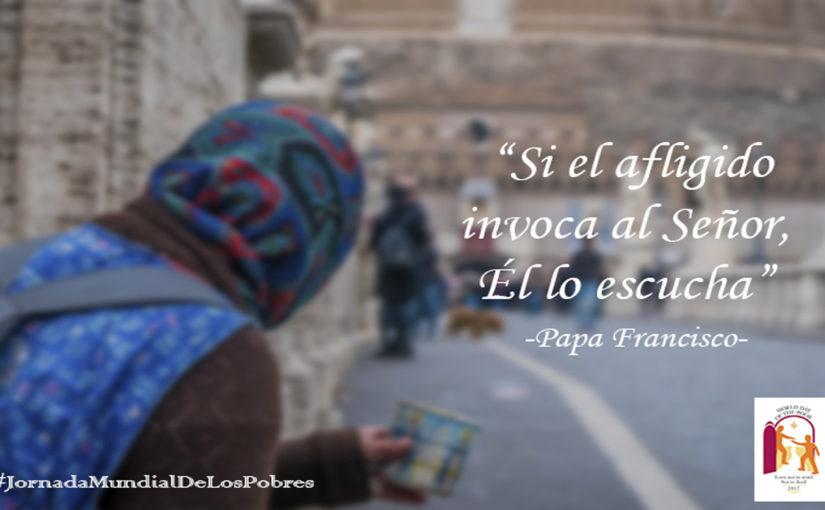 Domingo 19 de noviembre I Jornada Mundial de los Pobres