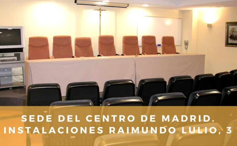 Raimundo Lulio, instalaciones