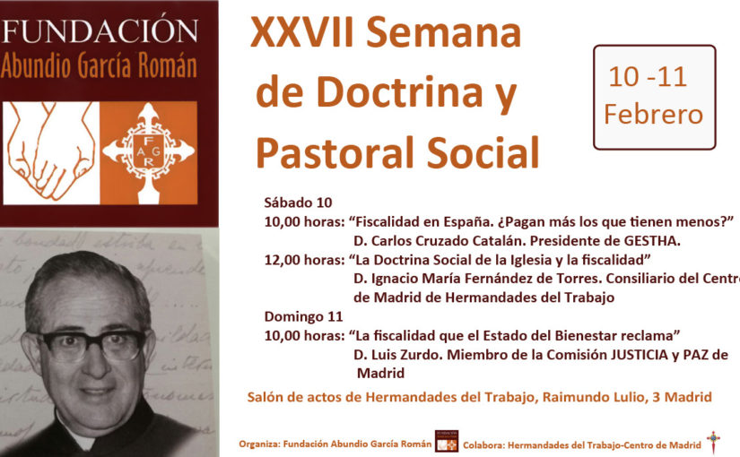 XXVII Semana Doctrina y Pastoral Social
