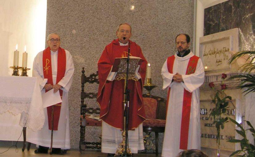 Eucaristía XXIX Aniversario fallecimiento de D. Abundio García Román, Siervo de Dios y Fundador de las Hermandades del Trabajo
