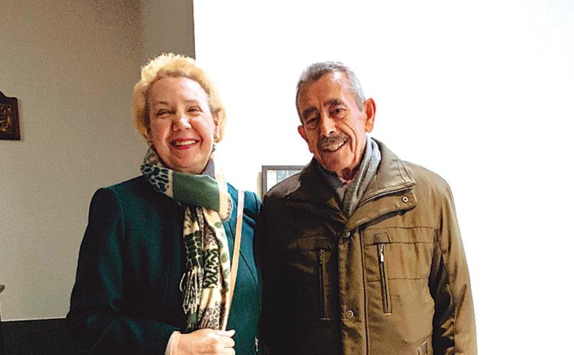 Herminio Blázquez y Mª Antonia Benito,  coordinadores de Nueva Acción Familiar de Hermandades del Trabajo-Centro de Madrid