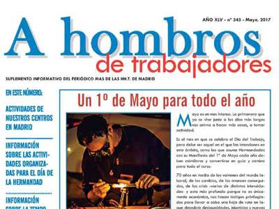 """Periódico """"A Hombros"""" de mayo de 2017: avance de verano"""