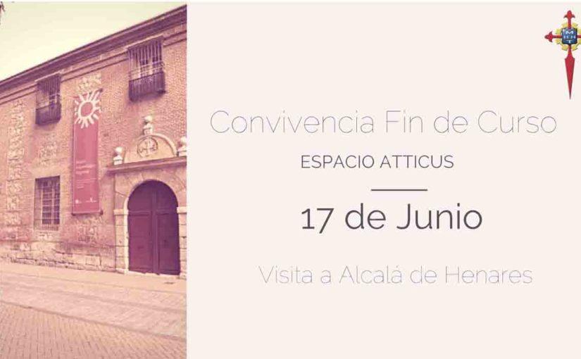Convivencia Fin de Curso Espacio Atticus y Formación Profesional en Alcalá de Henares