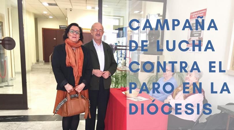 2 DE ABRIL: CAMPAÑA CONTRA EL PARO EN LA DIÓCESIS DE MADRID