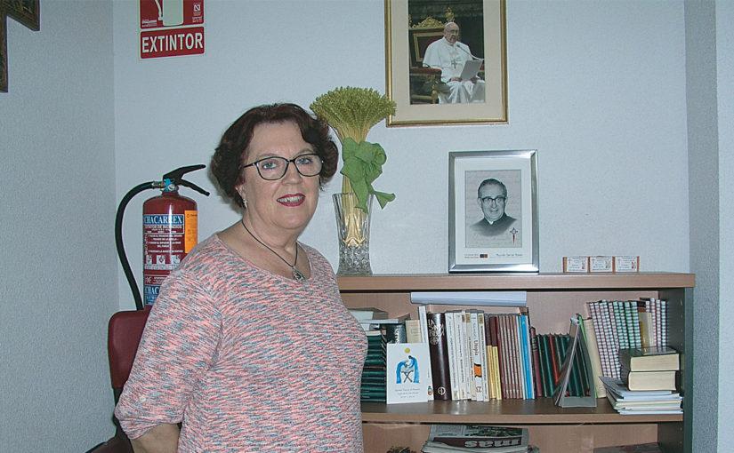 María Lidia Huerta, Presidenta del Centro de Alcorcón de Hermandades del Trabajo