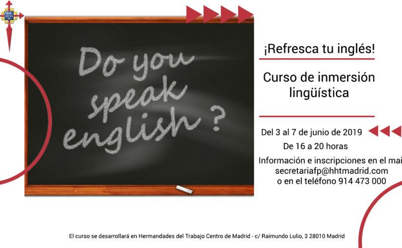 Curso de inmersión lingüística en inglés