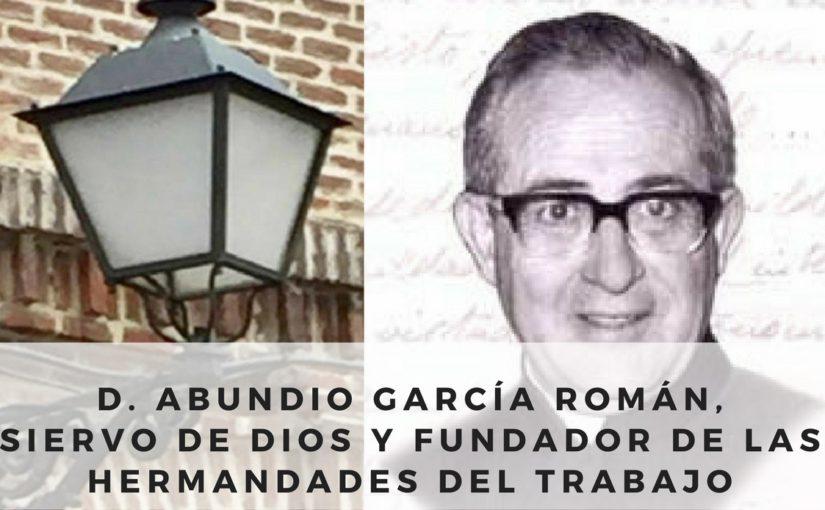 D. Abundio, fundador de Hermandades del Trabajo