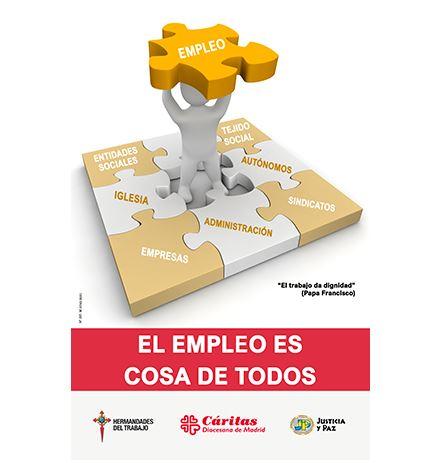 """""""El empleo es cosa de todos"""", Campaña contra el Paro 2021"""