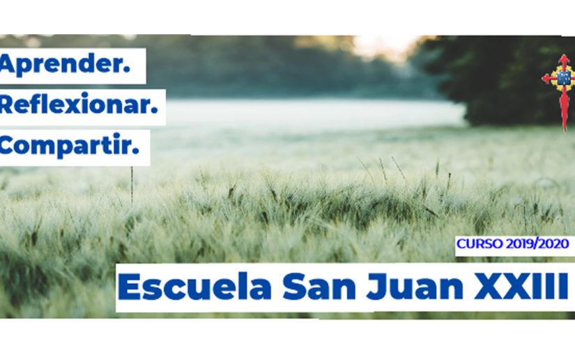 Escuela San Juan XXIII de las Hermandades del Trabajo-Centro de Madrid, curso 2019-2020