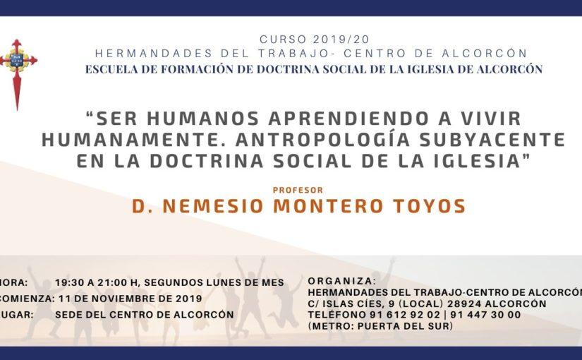 Comienza una nueva edición de la Escuela de Formación de Doctrina Social de la Iglesia de Alcorcón
