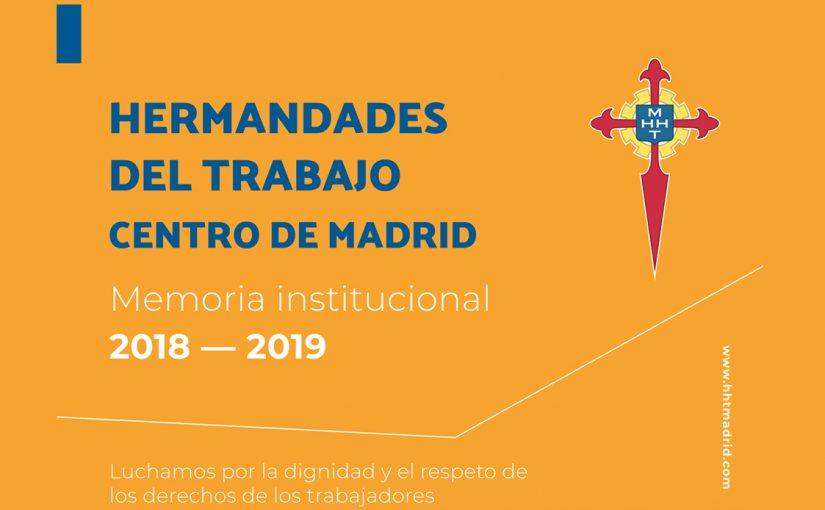 Memoria Institucional 2018-2019