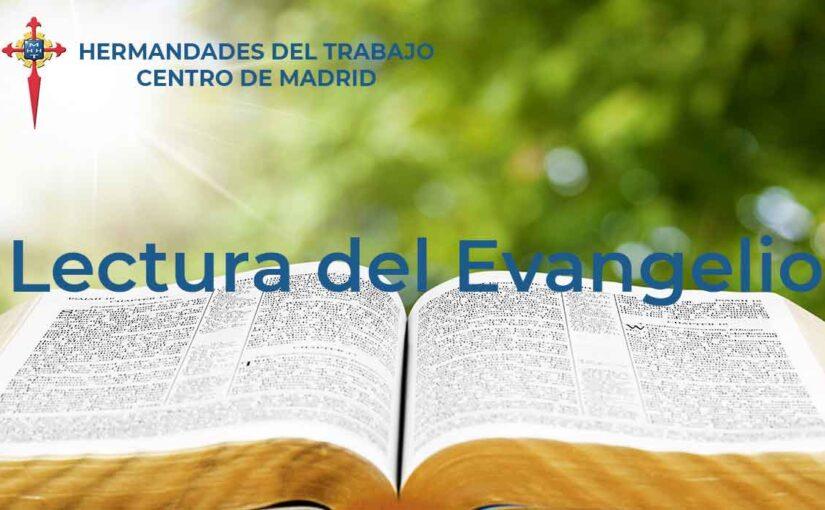 Lectura del Evangelio en HHT Madrid, curso 2021-2022