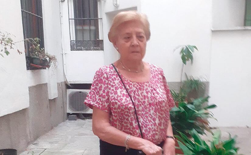 María Teresa Pavón, vicepresidenta de la Hermandad de Comunicaciones, Industrias y Comercio