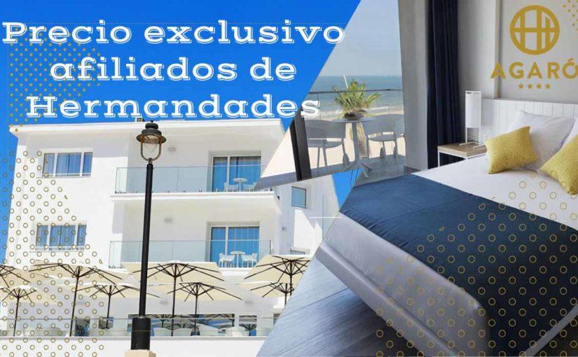 ¡Precio exclusivo para afiliados de Hermandades del Trabajo en el Hotel AGARÓ Chipiona (Cádiz)!