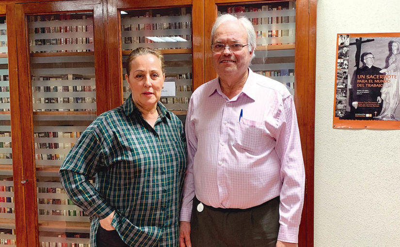 María José Castillo y José María Gutiérrez, coordinadores de la Oración por el Mundo del Trabajo