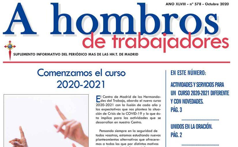 A HOMBROS, OCTUBRE 2020
