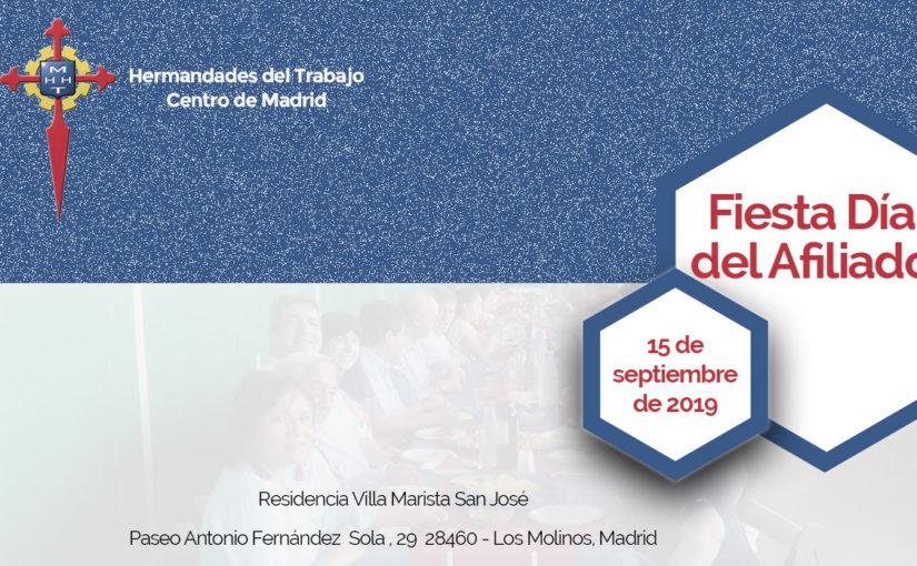 El domingo 15 de septiembre celebraremos la Fiesta Día del Afiliado