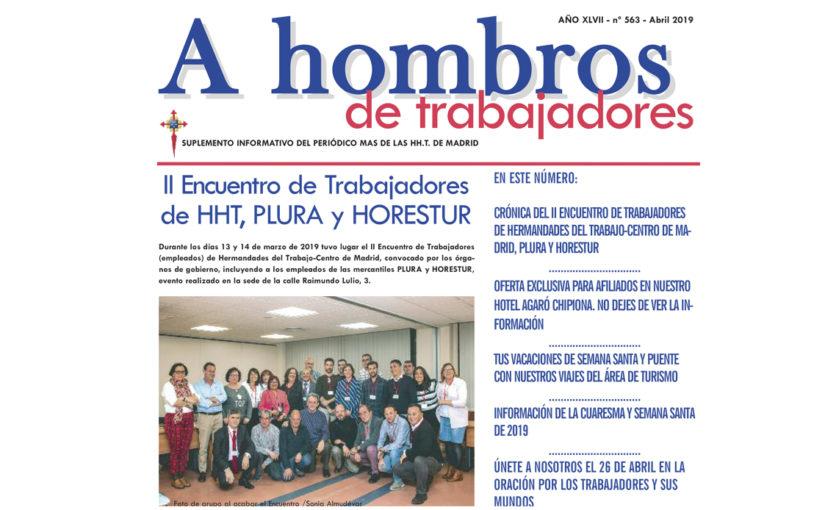 A hombros de Trabajadores, abril 2019
