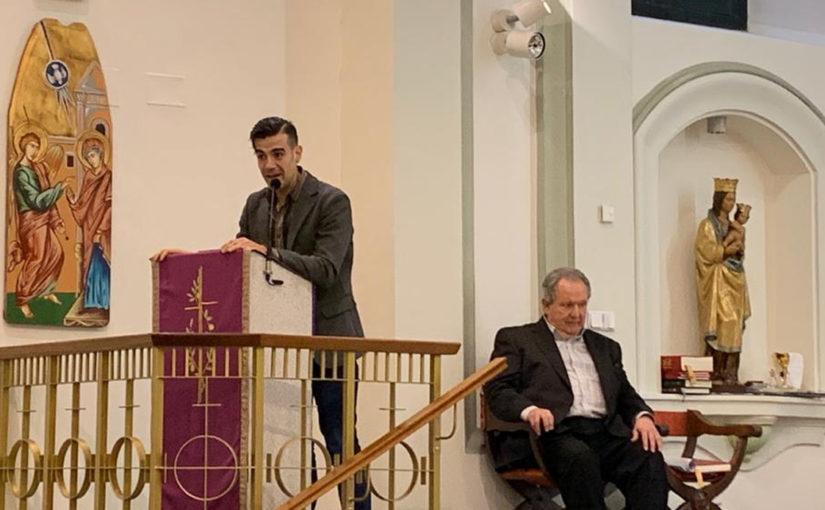 El director de la revista Vida Nueva, José Beltrán Aragoneses, impartió el Pregón de Navidad 2019