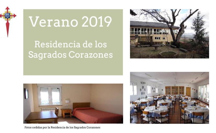 Del 1 de junio al 20 de agosto de 2019 Residencia Los Sagrados Corazones San Lorenzo del Escorial (Madrid)