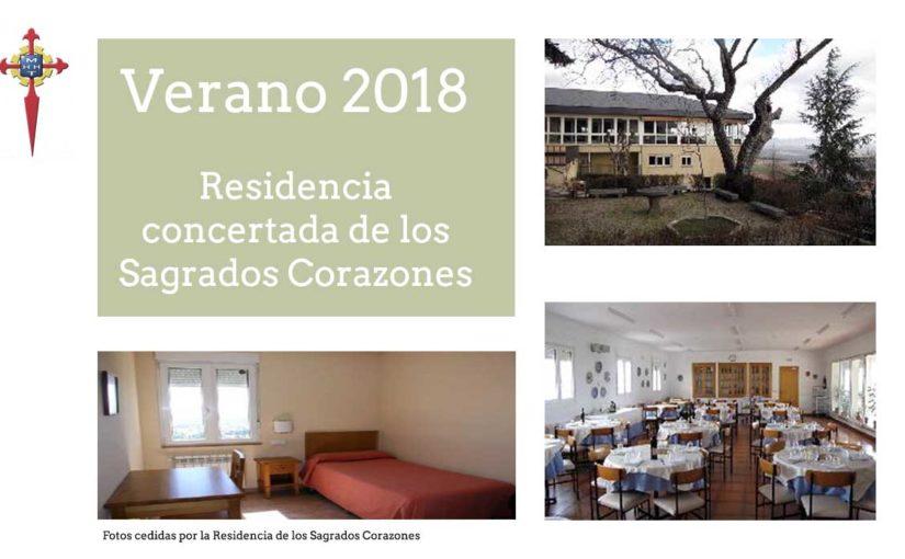 Verano 2018 en la residencia concertada de Los Sagrados Corazones, en San Lorenzo de El Escorial (Madrid)