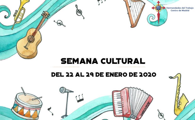 Hermandades del Trabajo-Centro de Madrid celebra su Semana Cultural en honor a Santo Tomás de Aquino