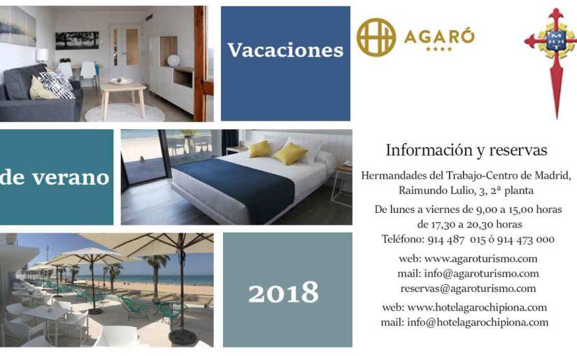 Reserva tus vacaciones de verano en los apartamentos AGARÓ Cambrils y en el hotel AGARÓ Chipiona