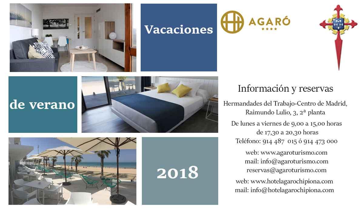 Vacaciones verano 2018