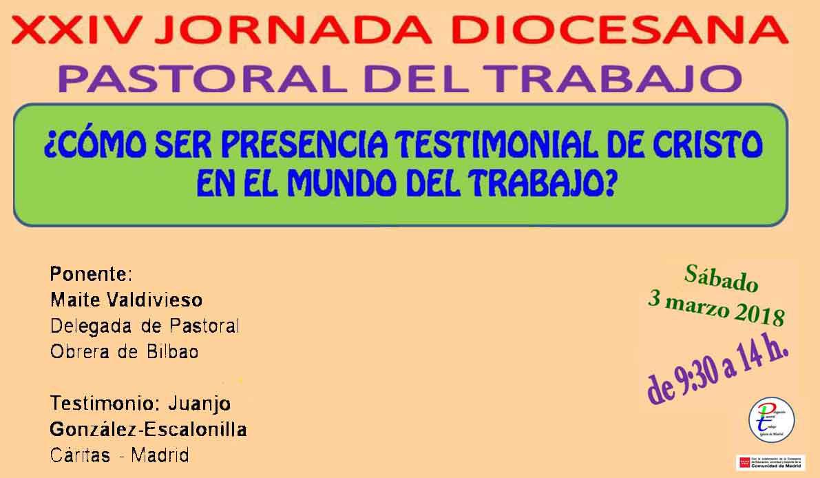 Xxiv jornada diocesana de pastoral del trabajo - Trabajo de jardinero en madrid ...